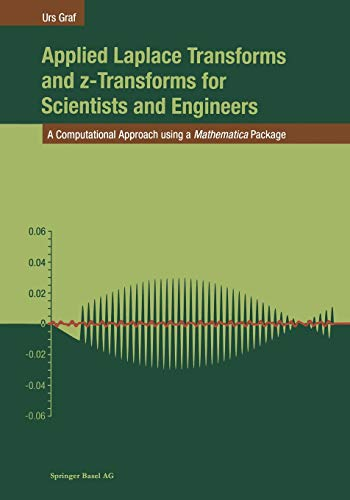 9783034895934: Applied Laplace Transforms and z-Transforms for Scientists and Engineers: A Computational Approach using a Mathematica Package