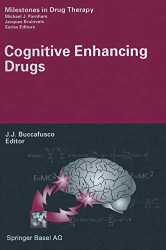 9783034896030: Cognitive Enhancing Drugs (Milestones in Drug Therapy)
