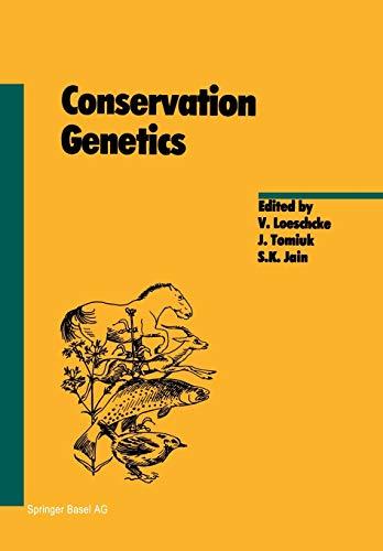 9783034896573: Conservation Genetics (Experientia Supplementum)