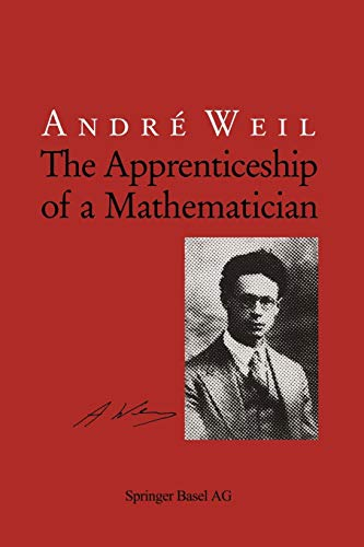 9783034897075: The Apprenticeship of a Mathematician