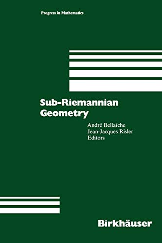 9783034899468: Sub-Riemannian Geometry (Progress in Mathematics)