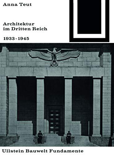 9783035600087: Architektur im Dritten Reich 1933-1945 (Bauwelt Fundamente)