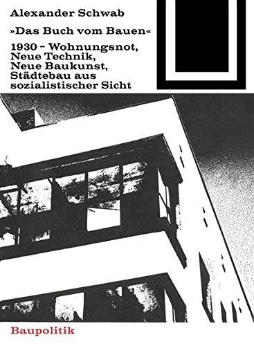 9783035601657: Das Buch Vom Bauen (1930) (Bauwelt Fundamente) (English and German Edition)
