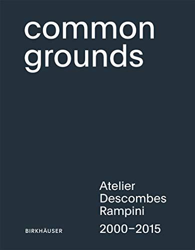 9783035606133: Atelier Descombes Rampini: Architects of Public Spaces