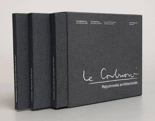 9783035606614: Polychromie Architecturale: Le Corbusiers Farbenklaviaturen Von 1931 Und 1959 / Le Corbusier's Color Keyboards from 1931 and 1959 / Les Claviers de ... de 1959 (English, German and French Edition)