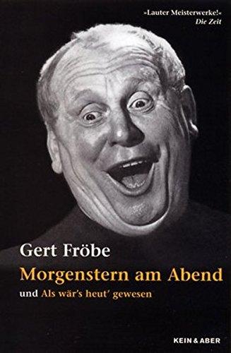 9783036911335: Gert Fröbe - Morgenstern am Abend (und mehr...) [Alemania] [DVD]