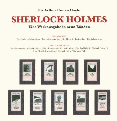 9783036951522: Sherlock Holmes, 9 Bde.