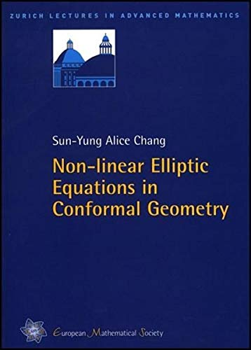 9783037190067: Non-Linear Elliptic Equations in Conformal Geometry (Zurich Lectures in Advanced Mathematics)