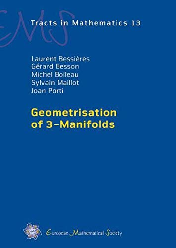 9783037190821: Geometrisation of 3-Manifolds