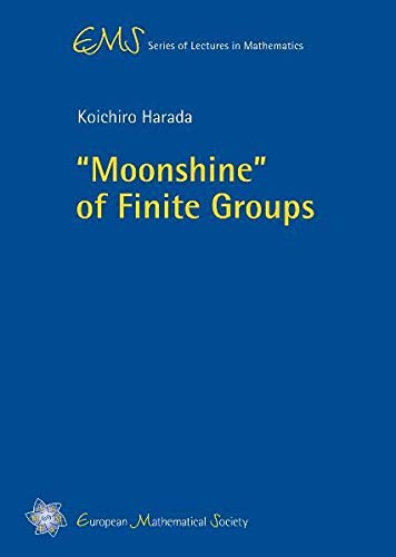 9783037190906: Moonshine of Finite Groups