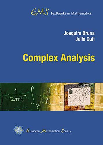 9783037191118: Complex Analysis (EMS Textbooks in Mathematics)