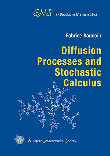 9783037191330: Diffusion Processes and Stochastic Calculus (Ems Textbooks in Mathematics)