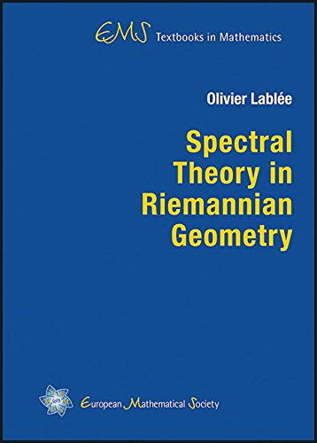 9783037191514: Spectral Theory in Riemannian Geometry (EMS Textbooks in Mathematics)