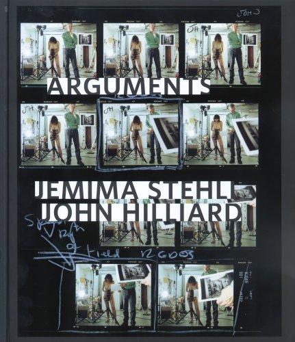 9783037200148: Jemima Stehli John Hilliard- Arguments (English and Italian Edition)