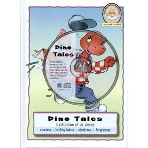 9783037302132: Dino Tales: A Collection of Six Stories with Audio CD (Grandpa Jake's Storybook: Fun With Values)