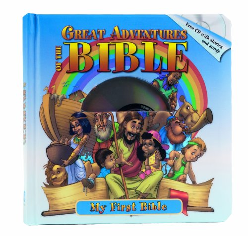 Great Adventures of the Bible (Book & CD): Aurora Books Editors
