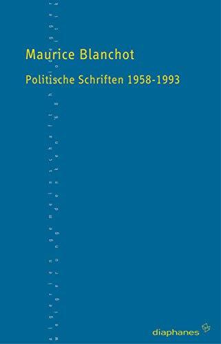 Politische Schriften (9783037340059) by [???]