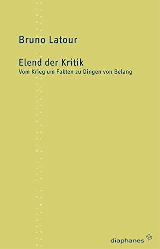 Elend der Kritik (9783037340219) by [???]