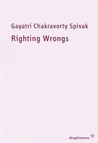 9783037340301: Righting Wrongs - Unrecht richten: Über die Zuteilung von Menschenrechten