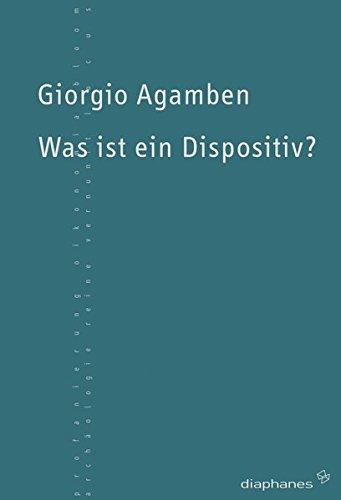 9783037340424: Was ist ein Dispositiv?
