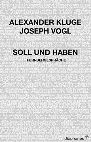 9783037340516: Soll und Haben: Fernsehgespräche