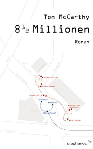 8 1/2 Millionen. Roman - signiert: McCarthy, Tom