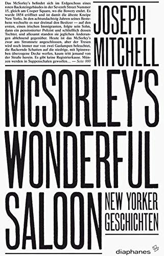 9783037341414: McSorley's Wonderful Saloon: New Yorker Geschichten