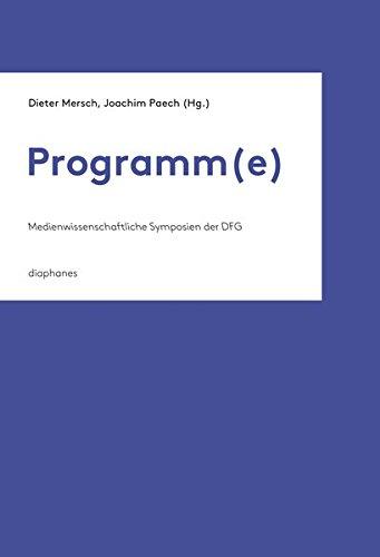 Programm(e): Dieter Mersch