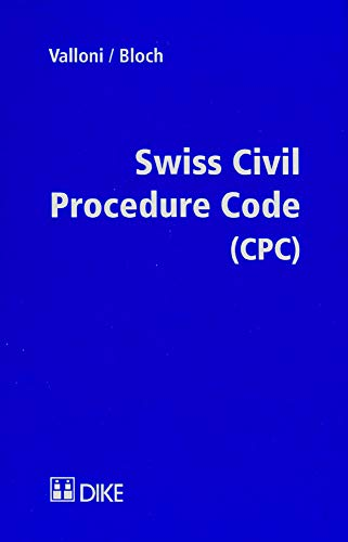 Swiss civil procedure code (CPC)