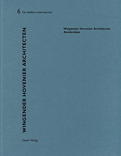 Wingender Hovenier Architecten: De aedibus international 6 (English and German Edition): Rosbottom,...