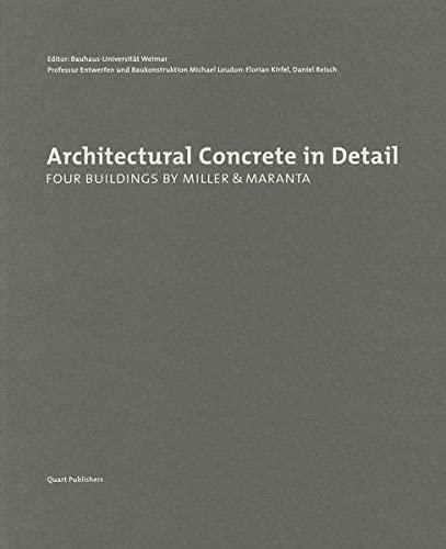 Architectural Concrete in Detail