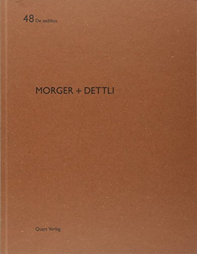 Morger + Dettli: Hubertus Adam