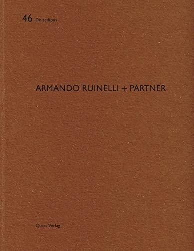 9783037610640: Armando Ruinelli + Partner (De Aedibus)