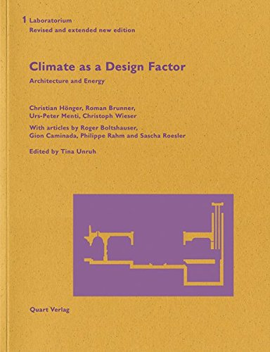 9783037610732: Climate as a Design Factor: Updated and extended (Laboratorium)