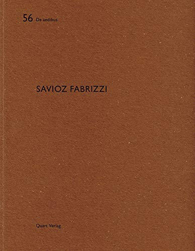 9783037610855: Savioz Fabrizzi