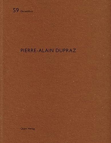 9783037610886: Pierre-Alain Dupraz (De Aedibus)