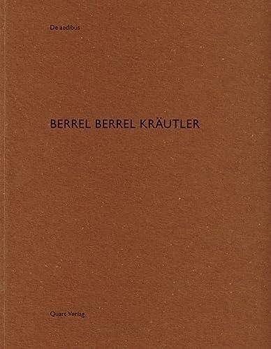 Berrel Berrel Krautler: De aedibus: Hubertus Adam,edited by Heinz Wirz