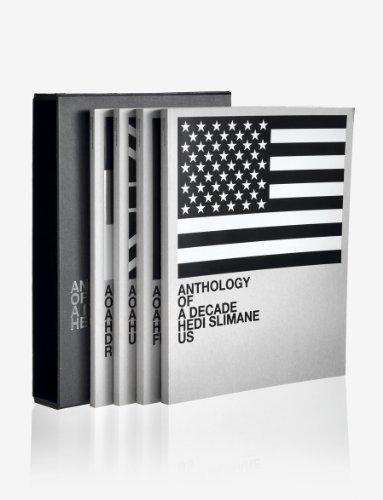 9783037641156: Hedi Slimane: Anthology of a Decade 2000-2010