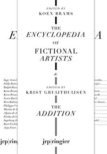 9783037641231: The Encyclopedia of Fictional Artists