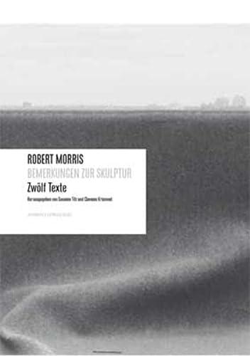 9783037641286: Robert Morris: Bemerkungen Zur Skulptur