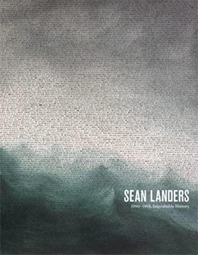 9783037641781: Sean Landers : 1990-1995, Improbable History