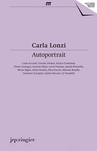 Carla Lonzi: Lonzi, Carla;zapperi, Giovanna
