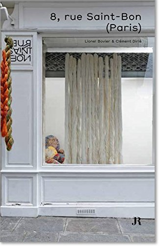 9783037644508: 8, Rue Saint-Bon (Hapax Series) (French Edition)