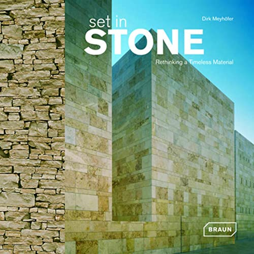 9783037680087: Set in Stone: Rethinking a Timless Material