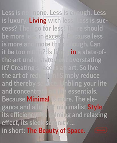 9783037682043: The Beauty of Space: Living in Minimal Style (BRAUN)