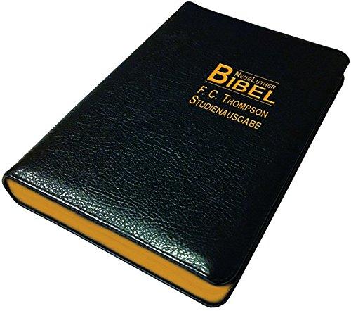 9783037710876: F.C. Thompson Studienbibel: NeueLuther Bibel - Luther 2009 - Großausgabe, Leder schwarz, Goldschnitt