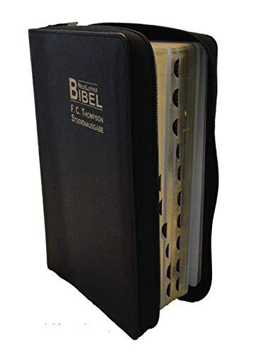 9783037711019: Bibelausgaben Neue Luther Bibel, F.C. Thompson, Studienausgabe, Reißverschluß, Cowhide-Cromwell Leder schwarz