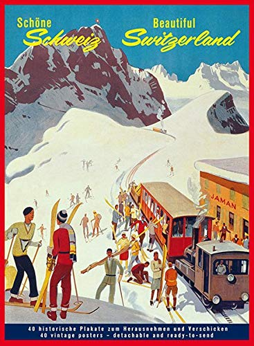 Schöne Schweiz - Beautiful Switzerland: 40 Postkarten: Peter Graf (Hrsg.),