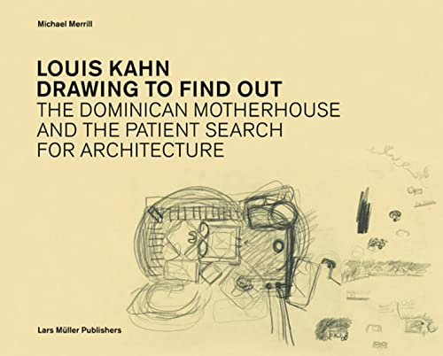 Louis Kahn 9783037782217 Nominated: DAM Book Prize, Most Beautiful Books of the Frankfurt Book Fair.Like few others, Louis Kahn cultivated the craft of drawing as a means to architecture. His personal design drawings - seen either as a method of discovery or for themselves - are unique in the twentieth century. Over two hundred - mostly unpublished - drawings by Kahn and his associates are woven together with a lively and informed commentary into an intimate biography of an architectural idea. Unfolding around the iconic project for the Dominican Motherhouse (1965 - 69) the drawings form a narrative which not only reveals the richness and hidden dimensions of this unbuilt masterpiece, but provides compelling insights into Louis Kahn's mature culture of designing. Kahn - long considered an architects' architect  - emerges as a vivid and instructive guide, provoking reflection on questions which continue to remain relevant: on how works are conceived, on how they might be perceived, on how they become part of human experience. Fascinating not only in their beauty, the drawings open a new and stimulating perspective on one of the past century's great architects. 'While drawing, I'm always waiting for something to happen. I don't want it to happen too quickly, though.' - Louis Kahn