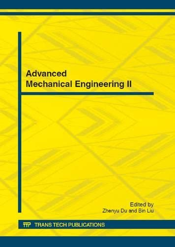 9783037854648: Advanced Mechanical Engineering II: Selected, Peer Reviewed Papers from the 2012 International Conference on Advanced Mechanical Engineering Ame 2012, ... China (Applied Mechanics and Materials)